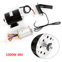 48V DC Electric Motor w/Base Speed Controller Foot Pedal Throttle Scooter 1000W