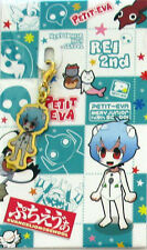 Neon Genesis Evangelion Puchi Rei Plug Suit Fastener Accessory Charm Anime Mint