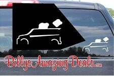 Toyota Scion XB Toaster Outline Vinyl Decal Funny Humor Sticker Box Car Stance