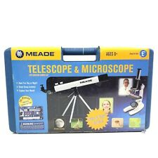 Meade 28 Pc 100x Telescope And 900x Microscope Set with Hard Case