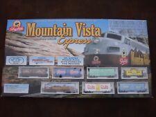 Mountain Vista Express Complete Train Set- HO Scale by Shop Rite #433-8807 NIB