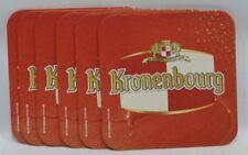 KRONENBOURG BIERE 6 sous-bocks sous-verre carton NEUF