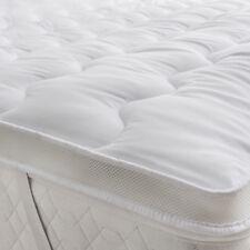 Double Microfiber Mattress Topper Ultra Soft Top Hotel Quality Air Flow Mattress