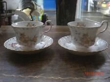 ROYAL  ALBERT CONSTANCE 2 X TEA CUP AND SAUCER