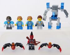 LEGO Minifigs NEXO KNIGHTS Mini FIGURES Lot BUNDLE Mech Bot Goblin Spiders