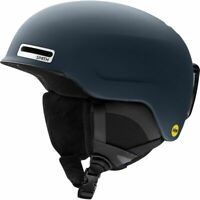 SMITH 2021 Adult Snowboard Snow - MAZE AF Asian Fit HELMET L - Matte French Navy
