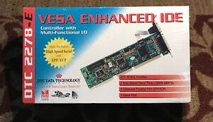 DTC2278E VESA Local Bus VLB I/O IDE disk disc HDD, FDD, COM, LPT controller card