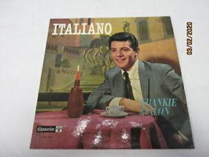 FRANKIE AVALON ITALIANO LP CHANCELLOR