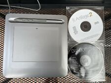 More details for wacom bamboo one ctf-430/s ctf-430 driver cd disk and artrage 2 graphic tablet