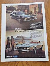 1971 Ford Mustang Hardtop & Mustang Mach 1 Ad