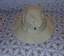 Vintage Polo Ralph Lauren USA Hat Bucket Pony Sailing Sportsman Beach Size M