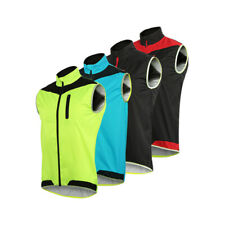 Windproof MTB Cycling Vest Bike Bicycle Breathable Reflective Waterproof Sports