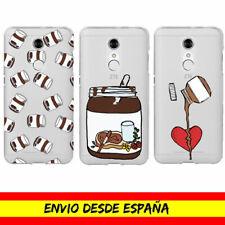 Funda Movil Case ZTE Nutella Chocolate Comida Cover Carcasa Dibujo