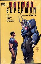 BATMAN / SUPERMAN VOL #5 HARDCOVER TRUTH HURTS DC Comics #21-27 HC