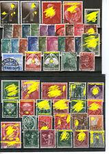 Briefmarken Sammlung Deutsches Reich gestempelt MiNr. 781- 798 hohe Werte Sätze