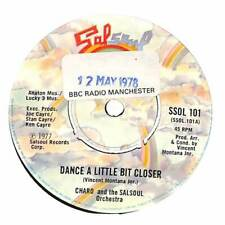 """Charo & The Salsoul Orchestra - Dance A Little Bit Closer  - 7"""" Record Single"""