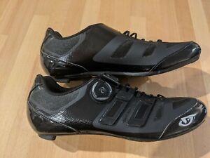 Giro Sentrie Techlace Shoes Men black (Shoe size: EU 45.5. UK 10.5) Easton Carbo