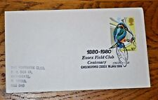January 1980 First Day Cover British Birds: Kingfisher 10p; Good Postmark