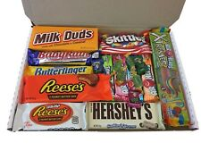 American Candy Sweets Gift Box Hamper - Reese's Hershey's Skittles