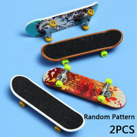2Pcs Finger Skateboard Tech Deck Truck Mini board For Toy Boy Kids Children Gift