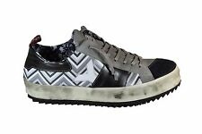 YAB Sneakers leather in pelle A/I