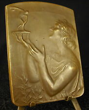 Médaille cyclisme art nouveau Le Soir 1953 fc Theunis Medal 勋章 Lancer du disque