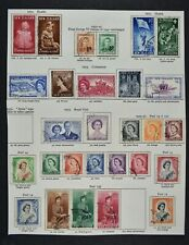 NEW ZEALAND, a collection on 4 album pages, mainly used condition.