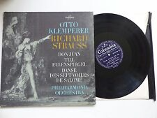 OTTO KEMPERER STRAUSS Don Juan .. Philharmonia orchestra fcx 809