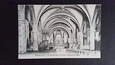 CPSM Pèlerinage Notre-Dame de Sion par praye intérieur de l'église