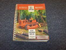 Allis Chalmers HD5 Track Log Cable Skidder Shop Service Repair Manual Book