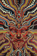 """3-D BICYCLE DAY 60""""x90in 5x7.5ft TAPESTRY WALL HANGING THROW w/FREE 3-D GLASSES"""