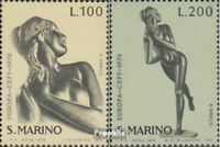 San Marino 1067-1068 (complete issue) unmounted mint / never hinged 1974 Sculptu