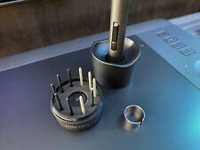 EUC Wacom Intuos Pro Tablet Medium PTH-651/K w/ Stylus + Nibs & USB Cable