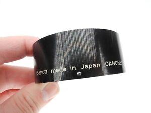 Canon Canonet Slip On 55mm Camera Lens Hood For 1st Canonet (Picture Inside)