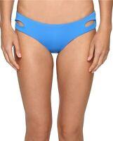Becca by Rebecca Virtue Color Code Cut Out Bikini Bottom L Water Womens Swimsuit