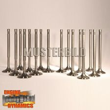 16 Valves: 8x Inlet valve, 8x exhaust valve VW Audi 2,0 Tdi Long Version