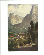 Ak Hinterbärenbad Tirol, Kaisergebirge, Unterkunftshaus 1914 Stempel Alpenverein