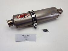 2005 Yamaha YZF-R6 YZFR6 M4 Muffler Exhaust Pipe SLIP ON 03-05 Y021