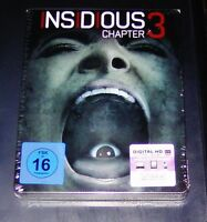 Insidious Chapter 3 Cada Geschichte Tiene Su Anfang Steelbook Blu Ray Nuevo &