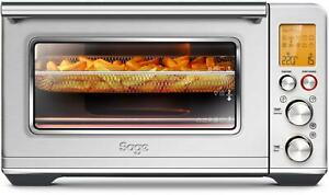 Sage SOV860 The Smart Oven Air Fryer, Heißluftofen, Backgrill, 2.400 Watt