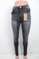 Radsport-Risse/Fetzen Damen-Jeans in Übergröße Hosengröße