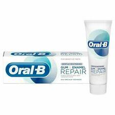 Oral B chewing-gum et émail réparation Doux Blanc Dentifrice 75 ml x 3