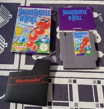 Nintendo NES juego con embalaje original Snake Rattle n Roll