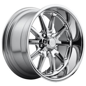 "17"" US U110 Rambler Wheels Chrome Suit HQ-WB, Camaro, Impala- 17x7 5/120.65 1P"