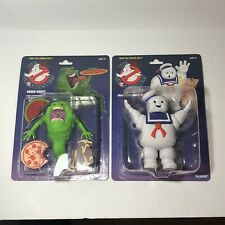 Kenner The Real Ghostbusters Stay Puft Marshmallow Man & Slimer Green Ghost New