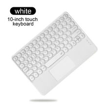 Keyboard Wireless Bluetooth TouchPad Slim For iPad Android Mac Windows Tablet PC