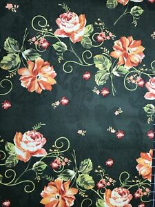 FQ Country Bouquet By Jeffery Marc For Print Concepts Printed Jacquard Cotton