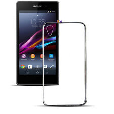 Sony Xperia Phones Ultra Thin Transparent Soft Silicone Gel Back Case Cover