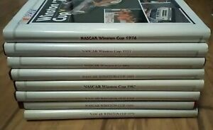 Vtg Nascar Winston Cup Year Books Lot 1973 1976 1977 1979 1980  1982-1984