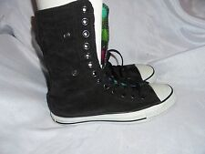 CONVEX ALL STAR UNISEX BLACK TEXTILE LACE UP ANKLE BOOT SIZE UK 5/7 EU 37.5 VGC